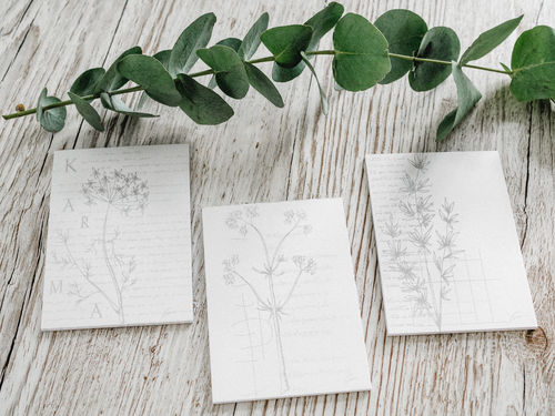 Paper Pad Set - Leaf