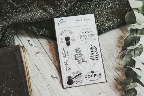 Stempel A6 _   black coffee
