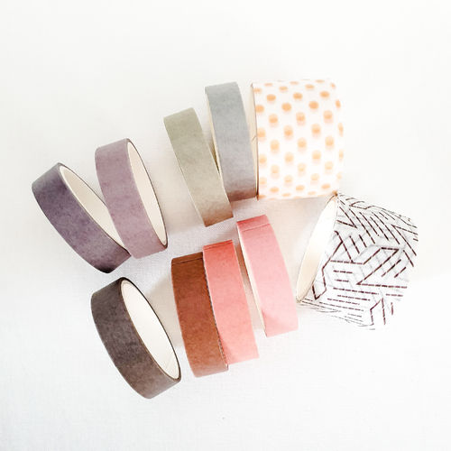 Washi tape Set lilac